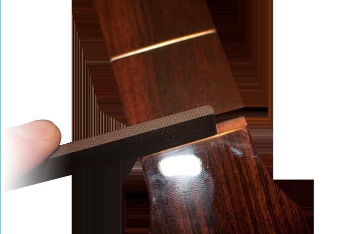Guitar slot files